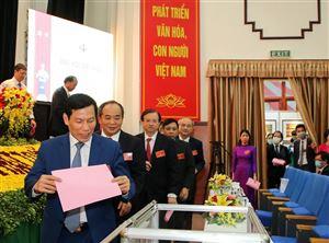 Thứ trưởng Tạ Quang Đông được bầu giữ chức Bí thư Đảng ủy Bộ VHTTDL nhiệm kỳ 2020 - 2025
