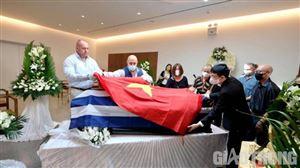Lễ tang Anh hùng lực lượng vũ trang Nguyễn Văn Lập tại Hy Lạp