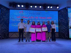 Thuyết minh Khu di tích Kim Liên đạt giải Nhất cuộc thi nghiệp vụ hướng dẫn viên du lịch tỉnh Nghệ An