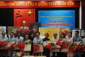 Bảo tàng Hồ Chí Minh Thừa Thiên Huế tổ chức Lễ tiếp nhận tư liệu, hiện vật về Chủ tịch Hồ Chí Minh