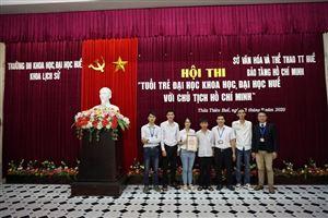 Tuyên truyền về thân thế, sự nghiệp của Chủ tịch Hồ Chí Minh tại trường Đại học Khoa học, Đại học Huế