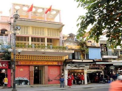 Di tích lịch sử 48 Hàng Ngang-Hà Nội